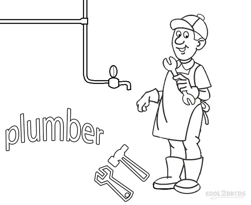 _^) Printable Community Helper Coloring Pages For Kids | Cool2bKids ...