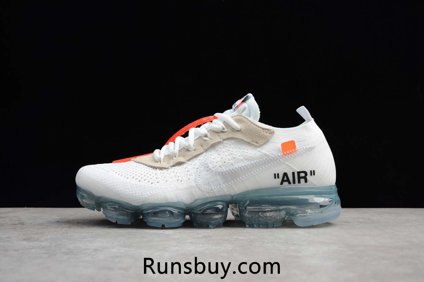5c7b7e610b7 Nike Air VaporMax 2018 OFF WHITE x OW Flyknit White Women Men