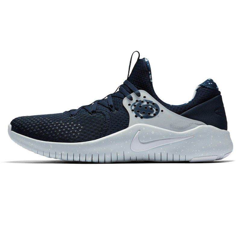 f8d41cc925a6 Penn State Nittany Lions Nike Free TR V8 Shoes – Navy Silver ...