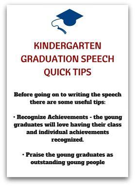 graduation speech for kindergarten by teachers