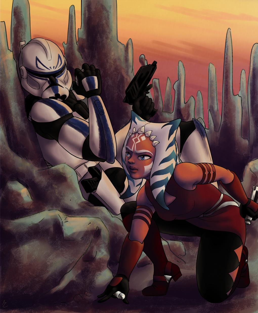 Ahsoka and Rex | Star wars captain, Ahsoka, Ahsoka tano