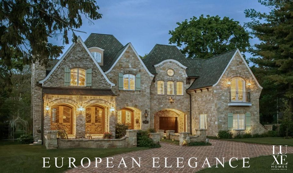 Charmant English Manor House Design   Luxe Homes Design Build