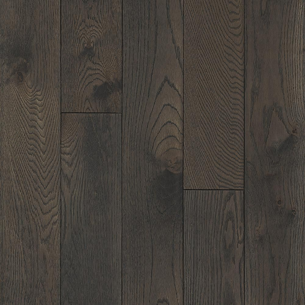 Bruce Revolutionary Rustics Oak Shadowy Gray 3 4 In T X 5 In W X Varying L Solid Hardwood Flooring 23 5 Sq Ft Case Red Oak Floors Prefinished Hardwood Flooring