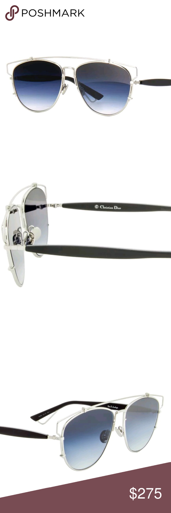 ac3aa2d5ecee Dior Sunglasses New authentic Dior Sunglasses Silver frame Case included Dior  Accessories Sunglasses
