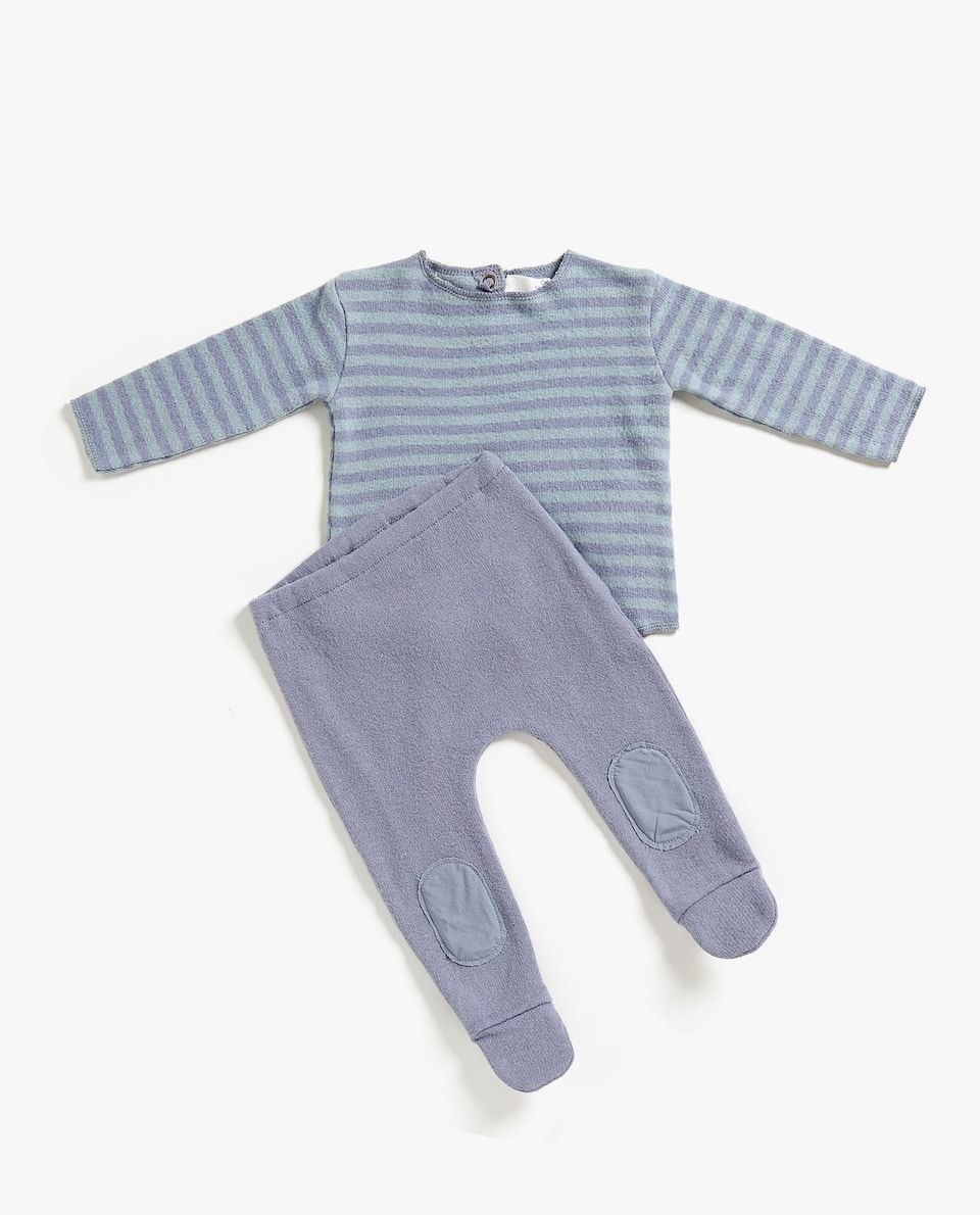 STRIPED BABY SET | Baby sets, Baby clothes, Kids fashion