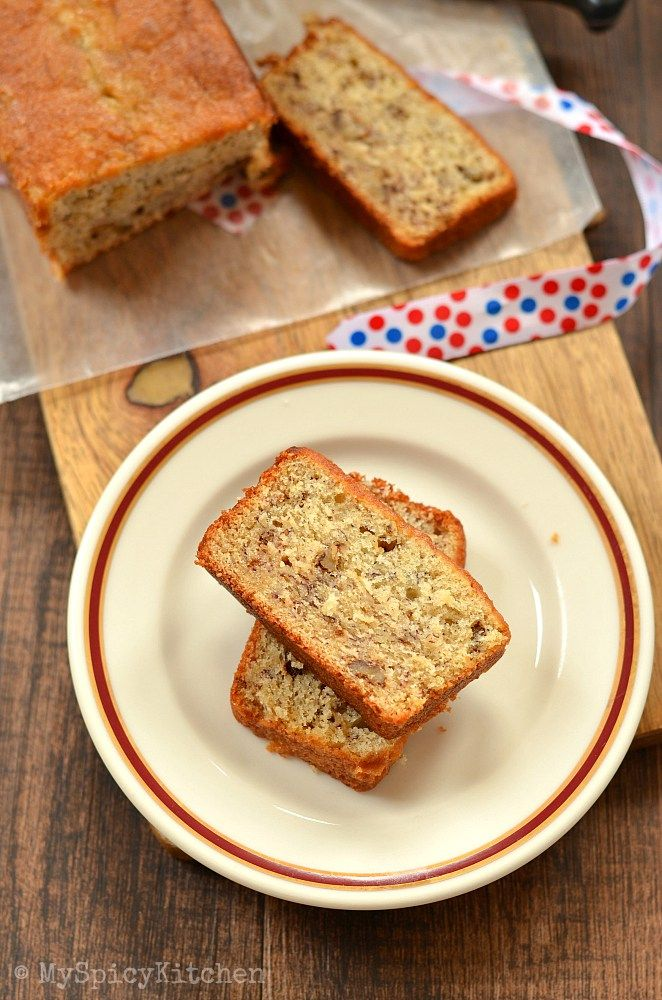 Banana Nut Bread Martha Stewart S Banana Bread Myspicykitchen Banana Nut Bread Best Banana Bread Banana Bread Martha Stewart