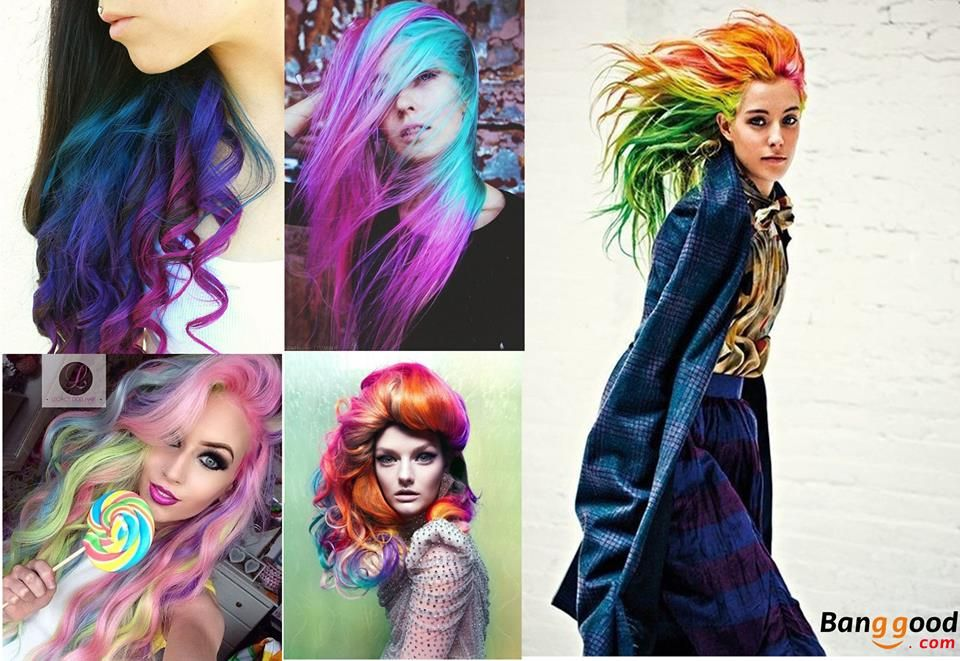 Color Inspiration Learn About Temporary Ways To Color Your Hair