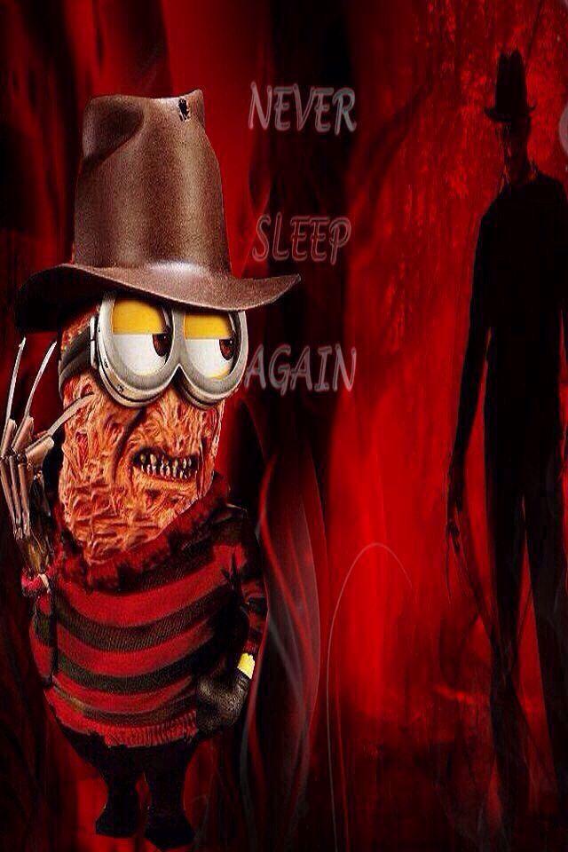 Freddy Minion Freddy Krueger Minion Movie Funny Horror