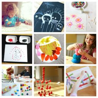 13 Simple Art Activities for Downtimes and Transitions