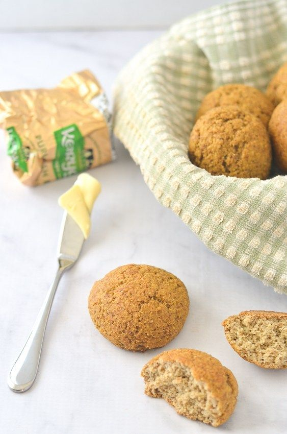 Gluten-Free Rolls - Sweet Roll Option! (Keto, Paleo) - The Harvest Skillet #grilledchickenparmesan