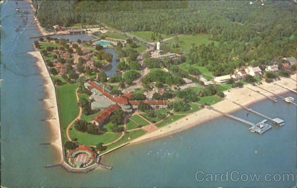 Aerial View Of Grand Hotel Point Clear