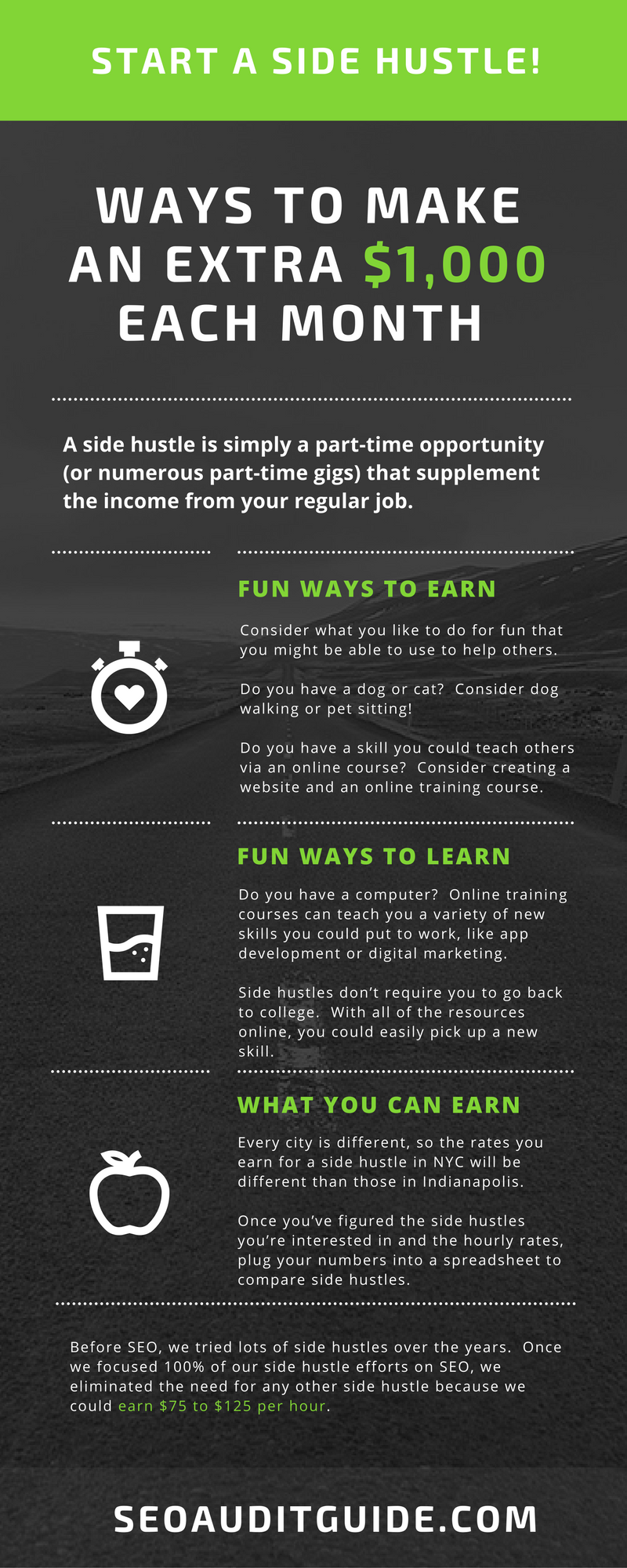 Whether you have a W-2 job or you're already a freelancer with (somewhat)  steady income, you might be looking to make extra money on the side. Making  money ...