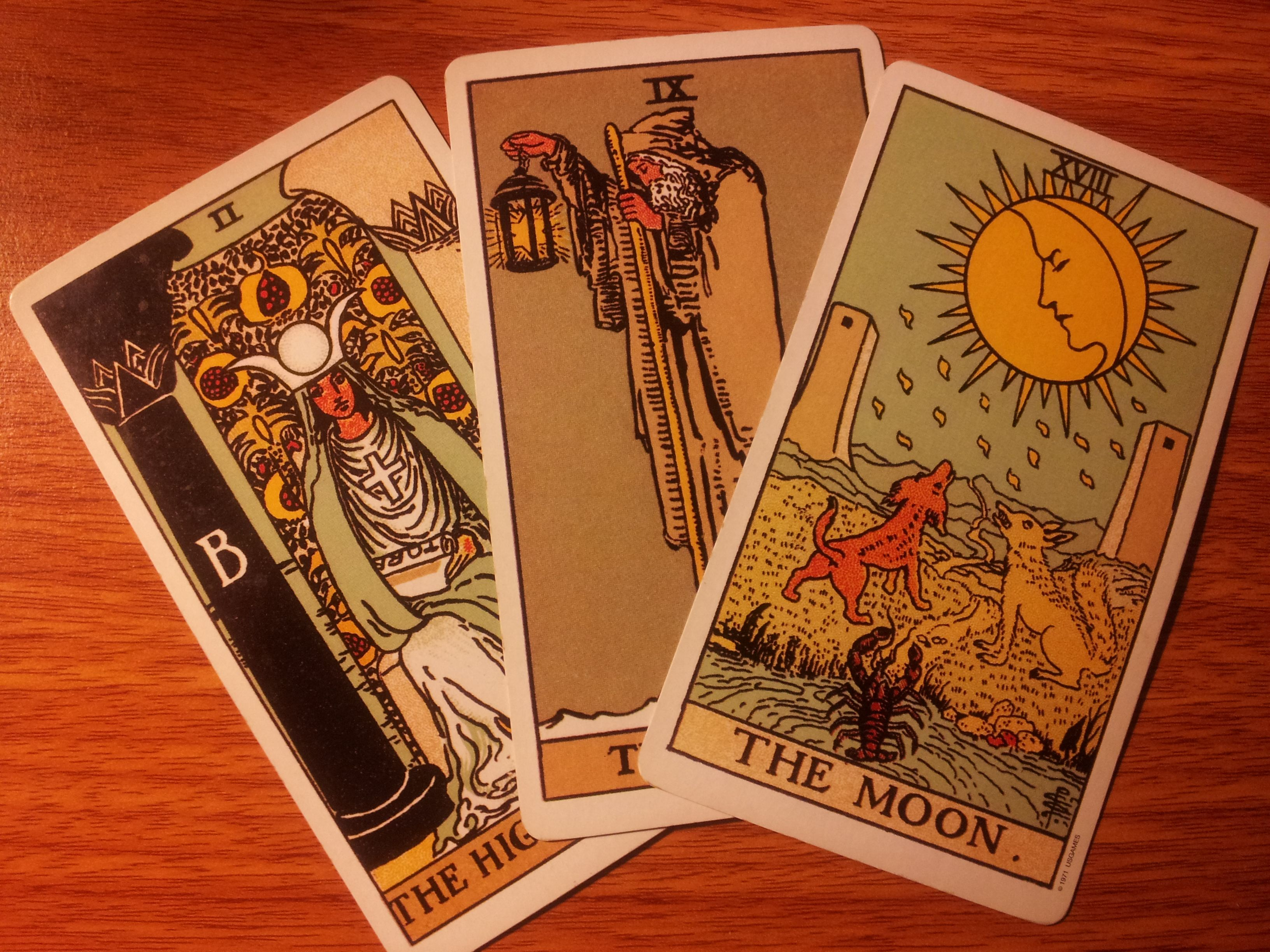 Answers to your questions about tarot reading a question