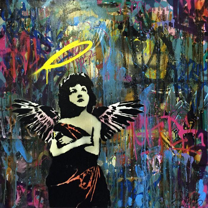 Post Graffiti Rene Gagnon Fine Art  Postgraffiti Abstract Expressionism  Rene .