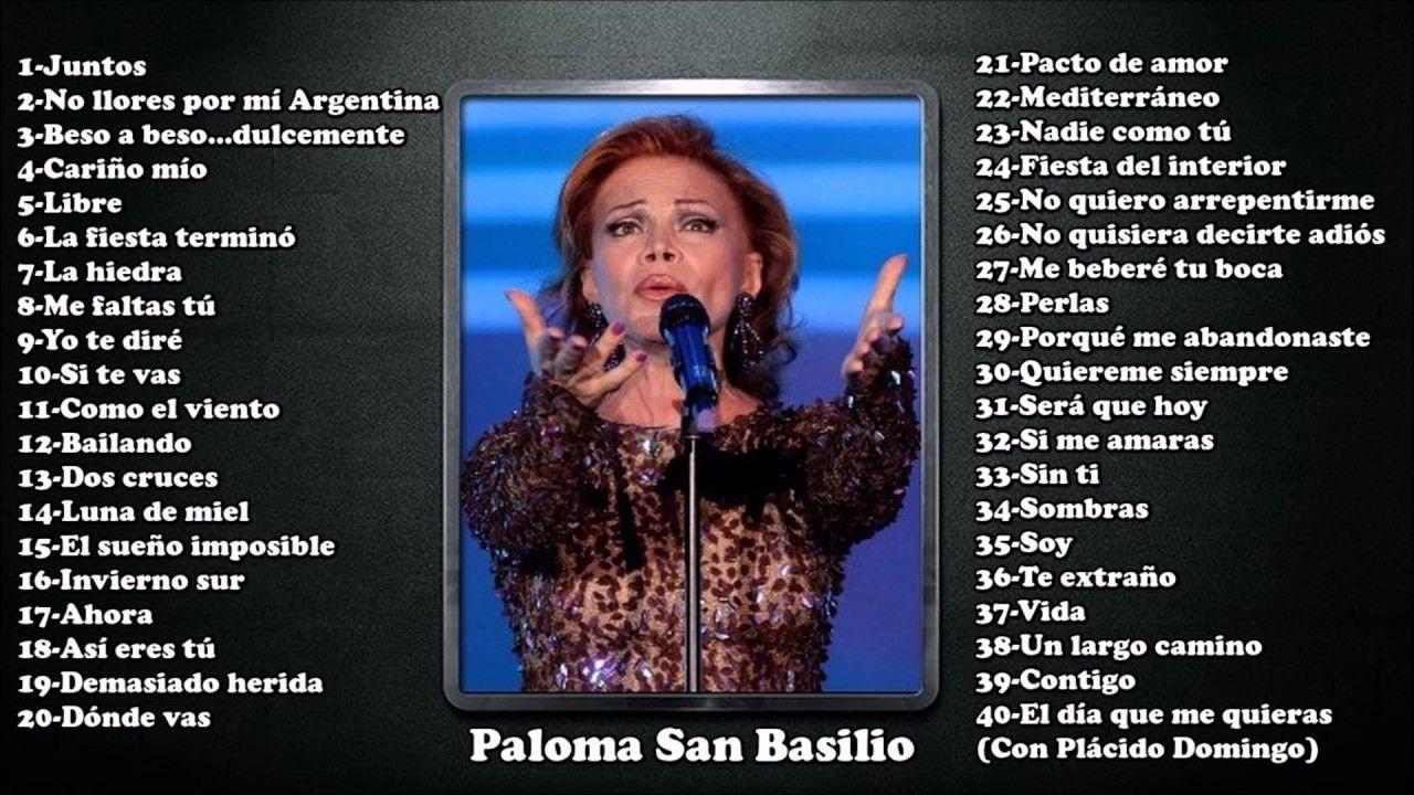 Paloma San Basilio Musica