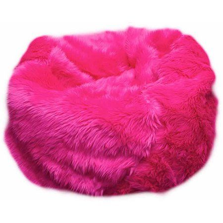 Remarkable Small Beanbag Multiple Colors Pink Products Fuzzy Bean Uwap Interior Chair Design Uwaporg