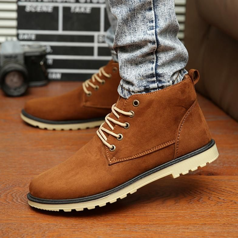 Men Boots 2015 New Arrival men shoes ankle boots sneaker For ...
