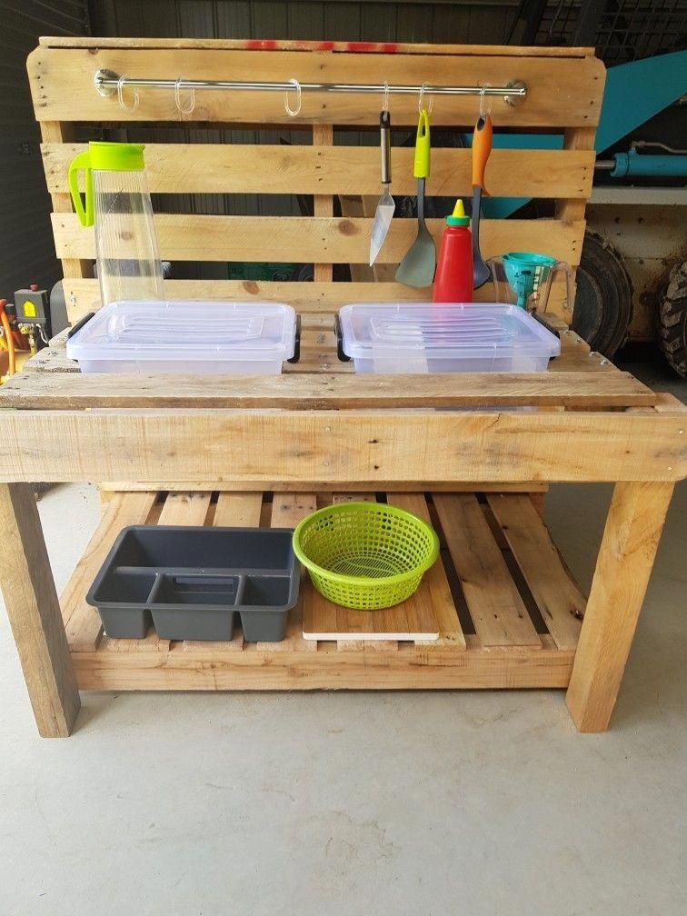 Mud Kitchen #kidsindoorplayhouse Kids Indoor Playhouse in 2018