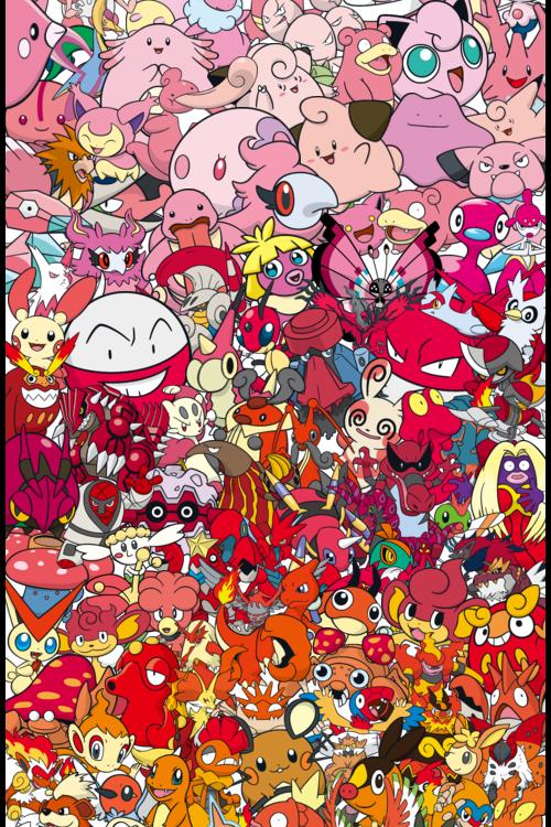 A R C H I V E Gogoatt Pokemon Spectrum By Gogoatt In 2020 Pokemon Doodle Background Pokemon Fan Art