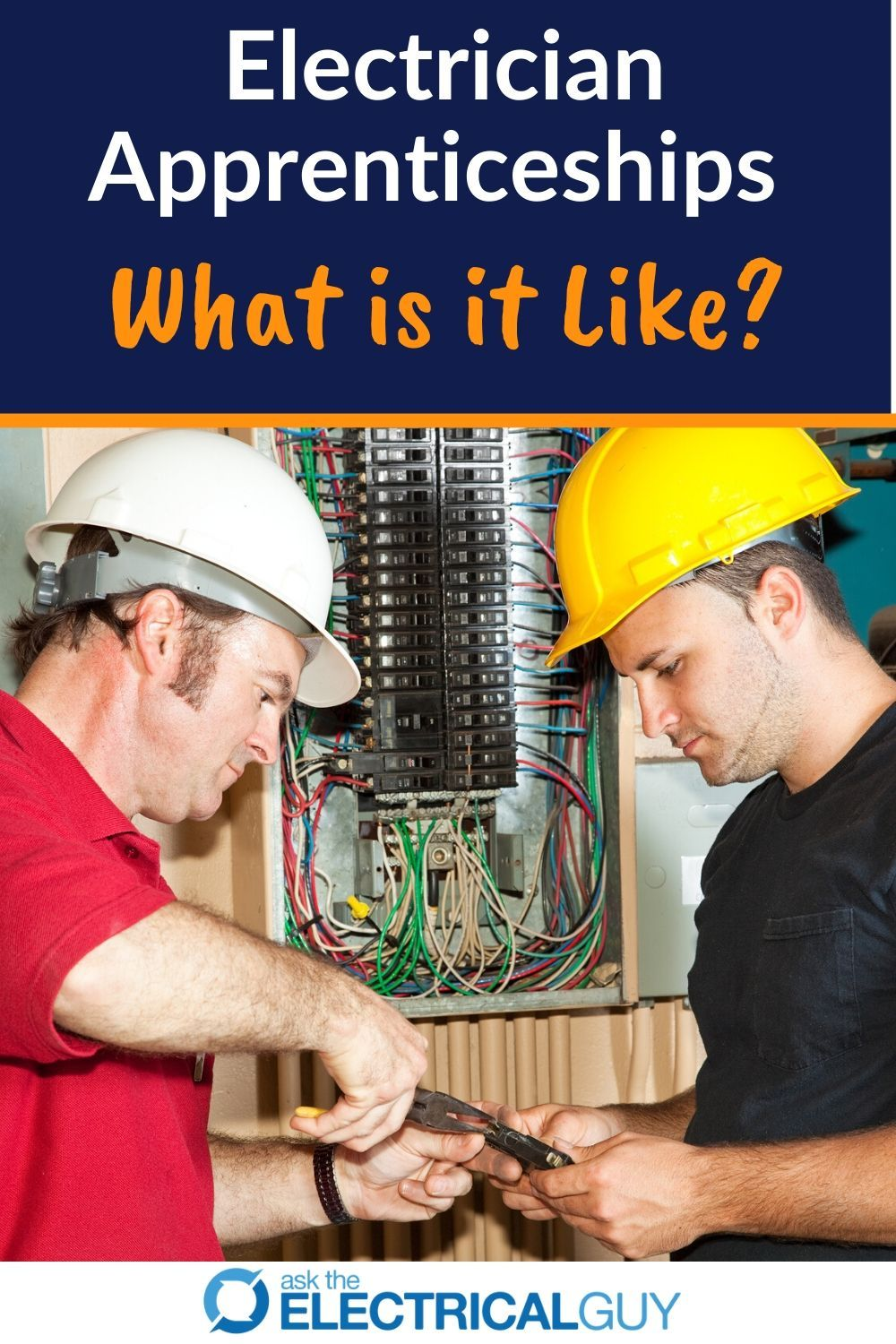 The first year as an electrician apprentice can be nerve
