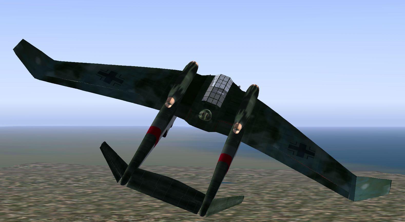 Bachem BA317 'Kobra', the strange jet from 'Return To