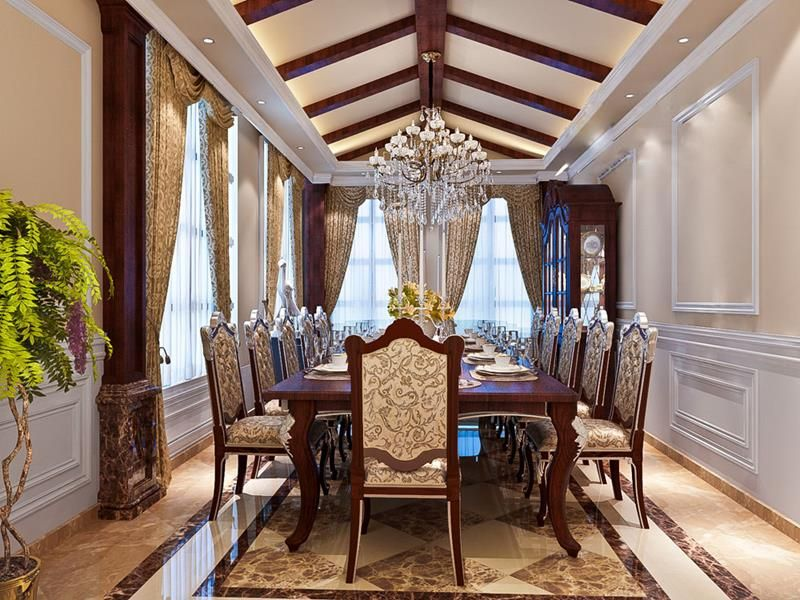 25 Luxurious Dining Room Designs  Page 3 Of 5  Dining Room Magnificent Luxurious Dining Room Decorating Design