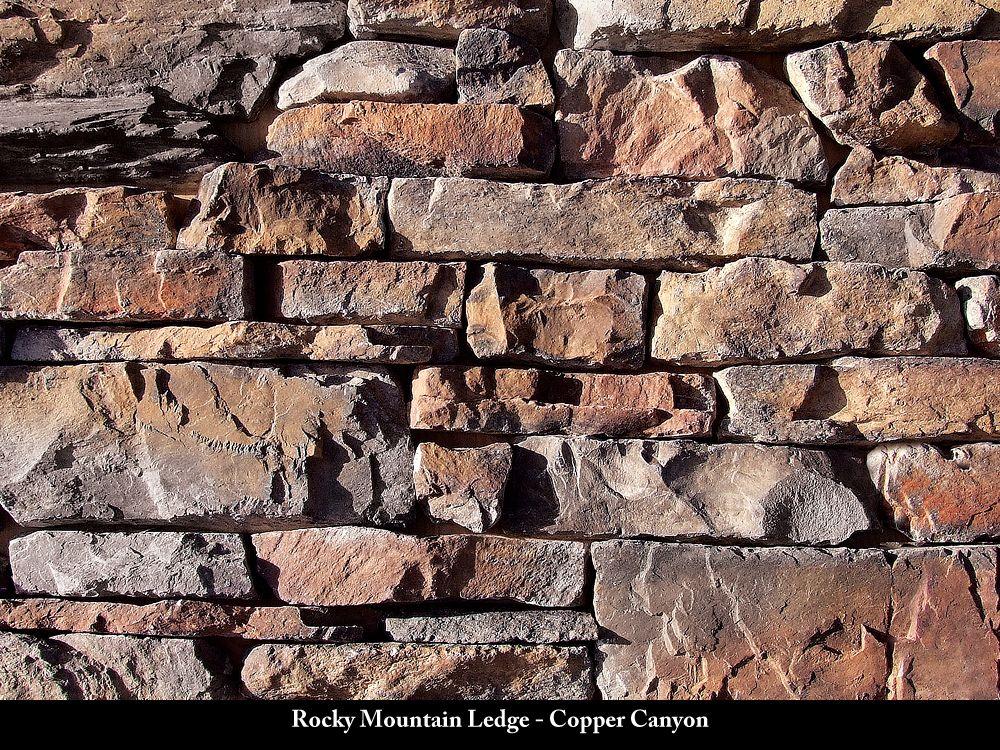 Rocky Mountain Ledge Canyon Stone Manufactured Stone Veneer Exterior Stone