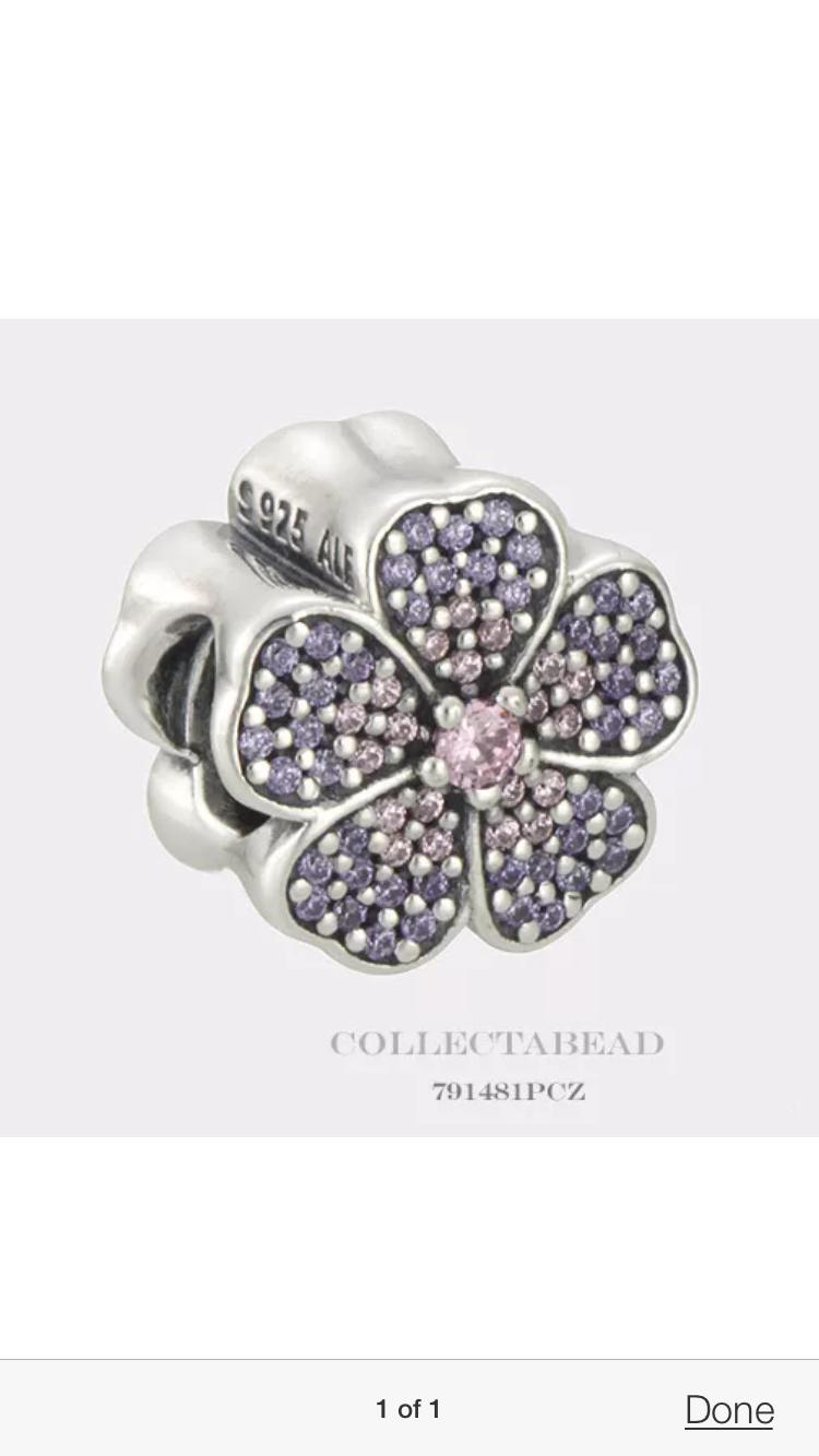 2d5959ba7 Sparkling Pandora Primrose Charm | Pandora addict | Jewelry, Pandora ...