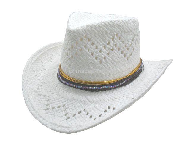 Promocional Patrón Libro Blanco de sombrero de vaquero proveedores ...