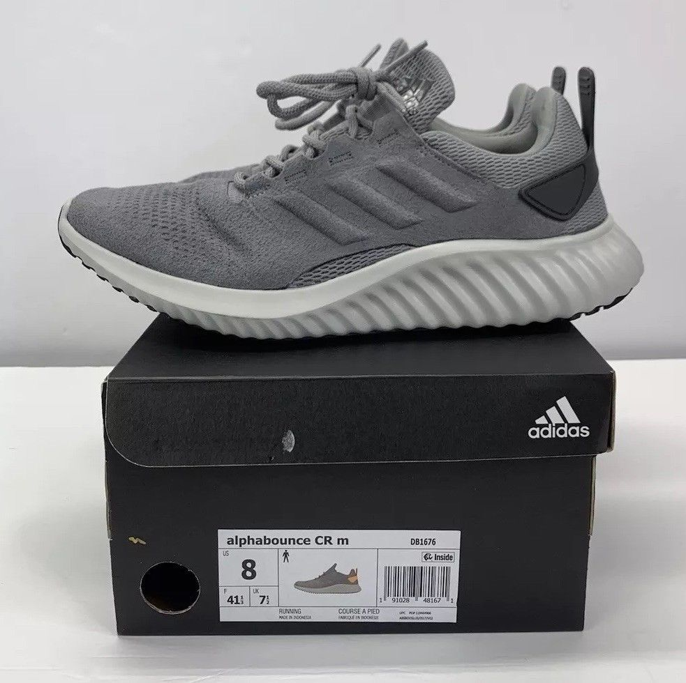 09c157373 ADIDAS ALPHA BOUNCE CR DB1676 MENS RUNNING SHOE SIZE 8 - NEW IN BOX!   fashion  clothing  shoes  accessories  mensshoes  athleticshoes (ebay link)