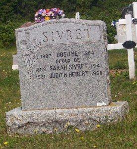 Miscou Genealogy | Sivret Hebert 1984 Miscou - New Brunswick founding families