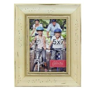Green Tree Gallery 5 X 7 Antique White Rustic Photo Frame Shop Hobby Lobby Photo Frame Shop Frame Rustic Wood