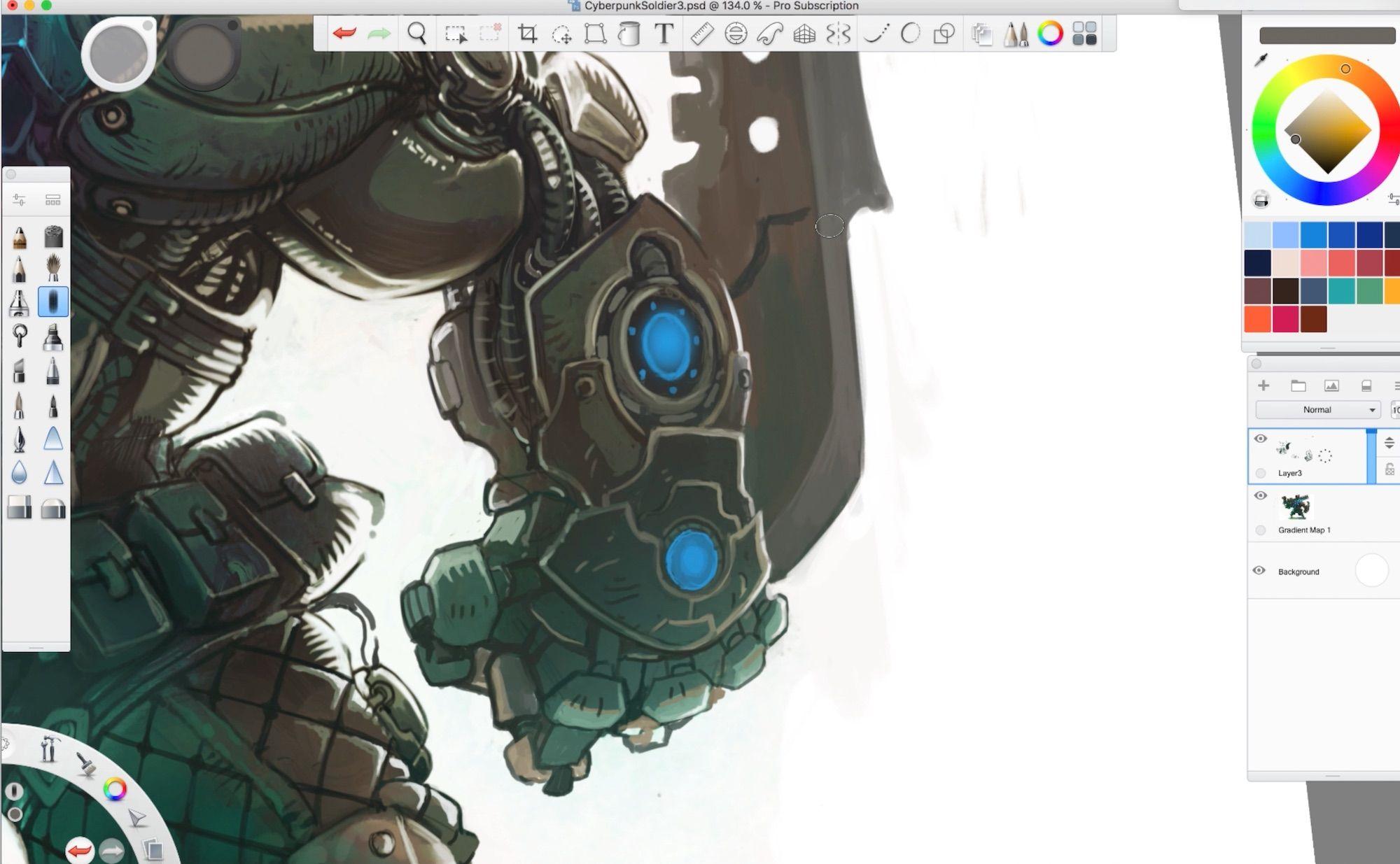 Trent Kaniuga Creating Character Concept Art Sketch Book
