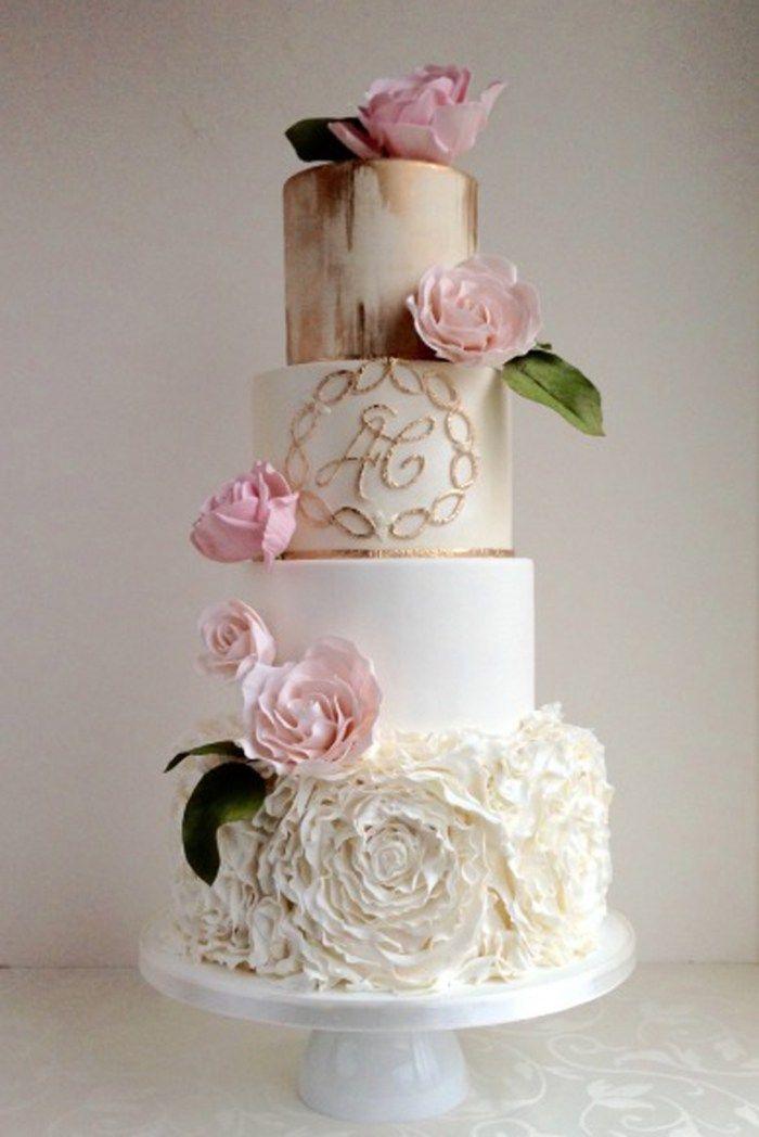 Wedding Cake Ideas 15 Images For Every Style Kue Perkawinan Desain Kue Pengantin Kue Cantik