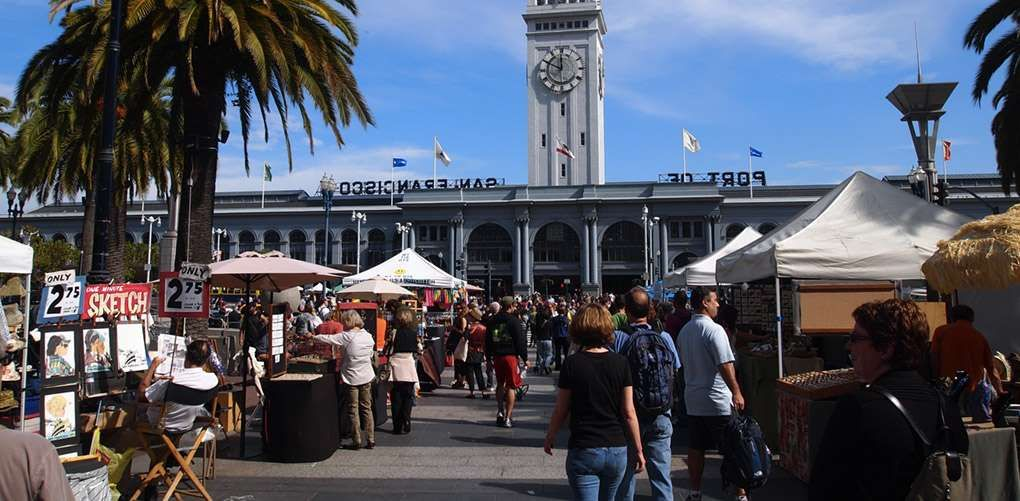 1. Stroll around the iconic Ferry Building during its bustling Saturday farmers' market and make a m... - Provided by PureWow