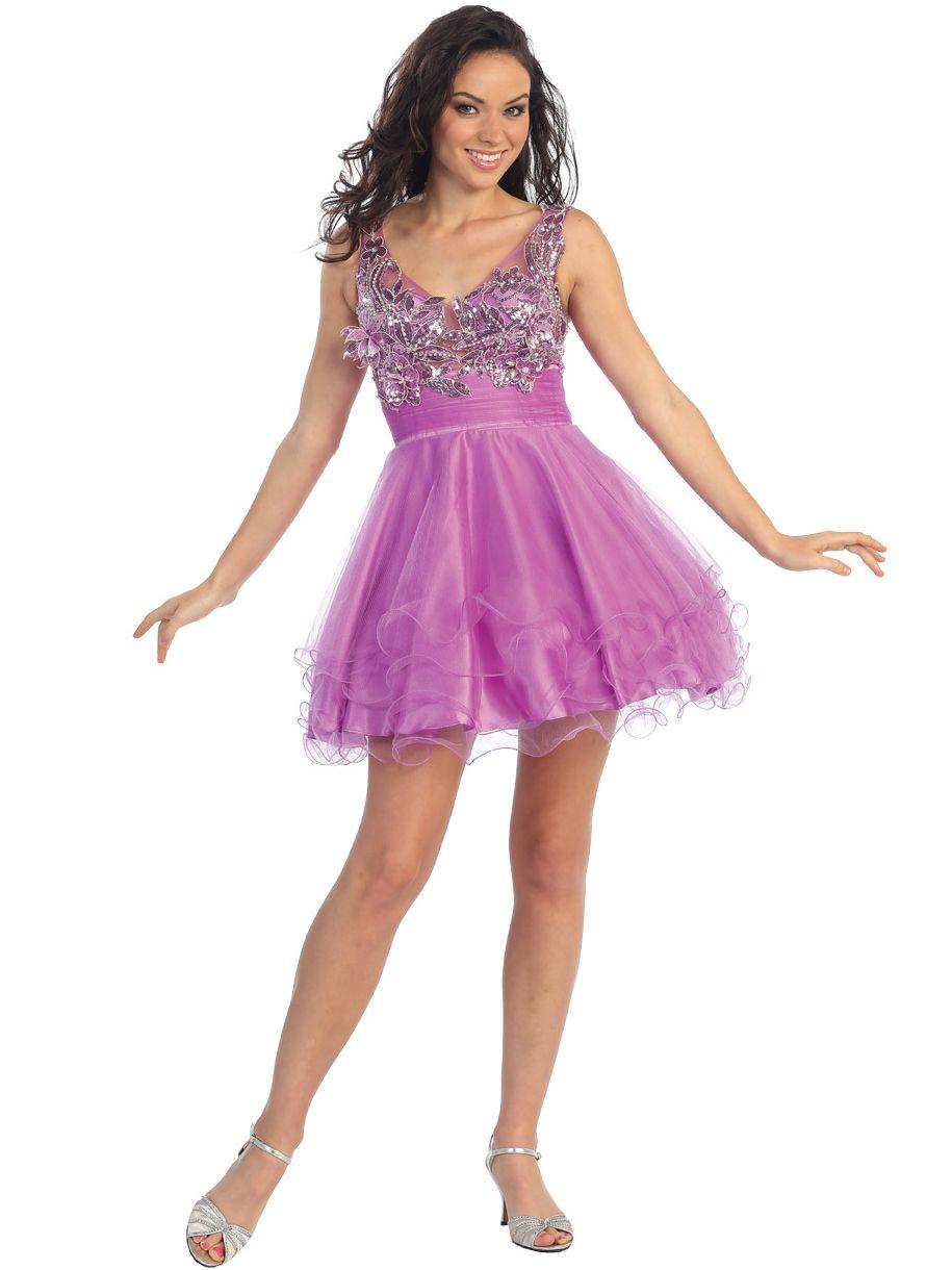 custom-purple-party-dresses- | Purple Party Dress | Pinterest