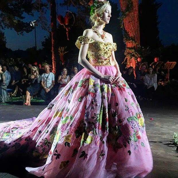 Dolce Gabbana Haute Couture Google Search Fashion Ball Gowns Pink Ball Gown