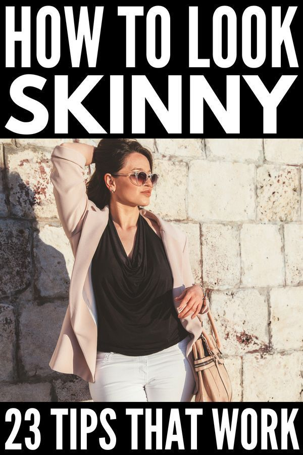 How to Dress to Look Thinner: 23 Slimming Fashion Tips That Work! #howtowear