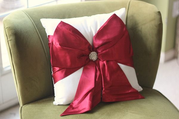 Wrapped Bow Pillow