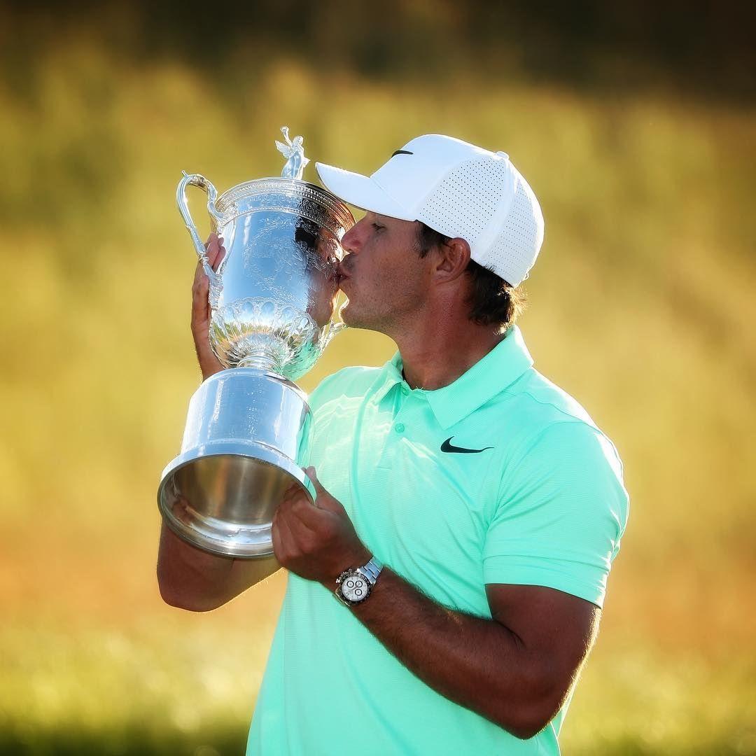 With Every Major Win Brooks Koepka Shows Us A New Shiny Rolex Watch Brooks Koepka Golf Watch Club Face