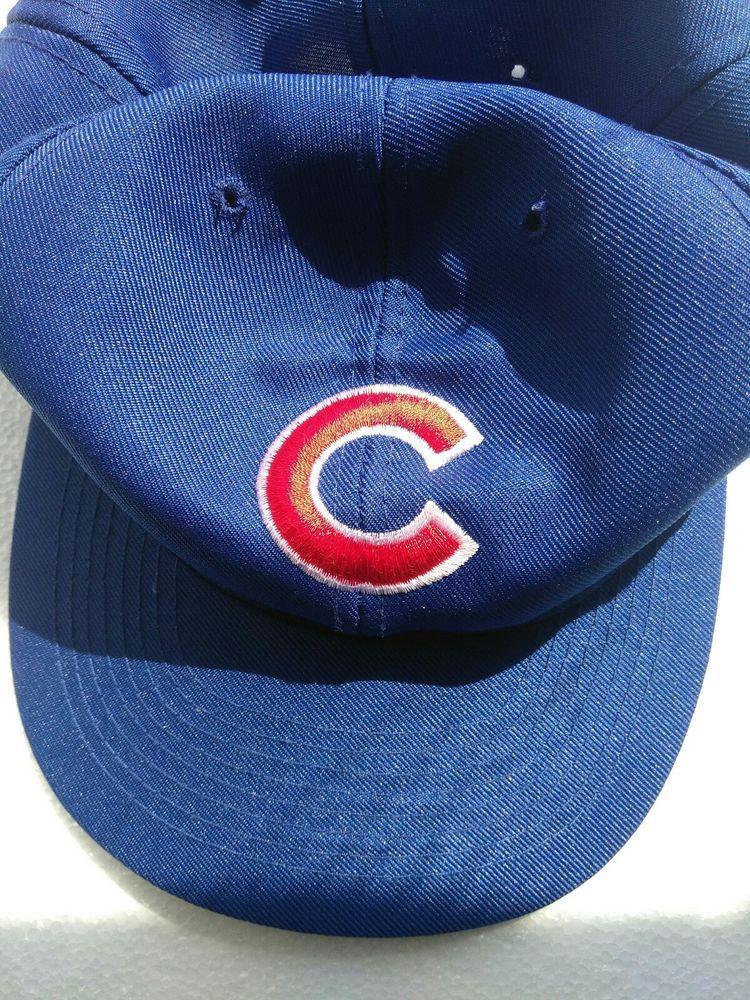 d6af62686ac Chicago Cubs Snapback Hat Cap Blue Baseball MLB OTTO  OTTO  ChicagoCubs