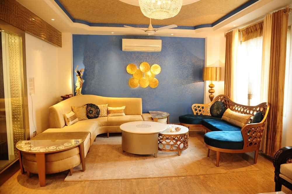 Design by Dimple Kohli | Indian living rooms, Living room ...