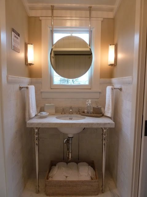 Pin By Hannah South On Bathrooms Powder Rooms Southern Living Homes Bathroom Decor Bathroom Design