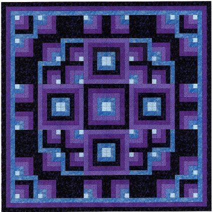 Easy Quilt Kit Shimmering Lights | Cool quilting stuff | Pinterest : easy quilt kits - Adamdwight.com