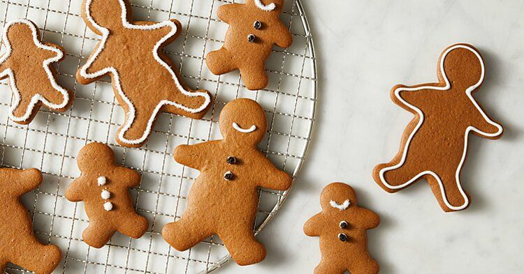 Basic Gingerbread Cookies Recipe -   16 gingerbread cookies decorated simple ideas