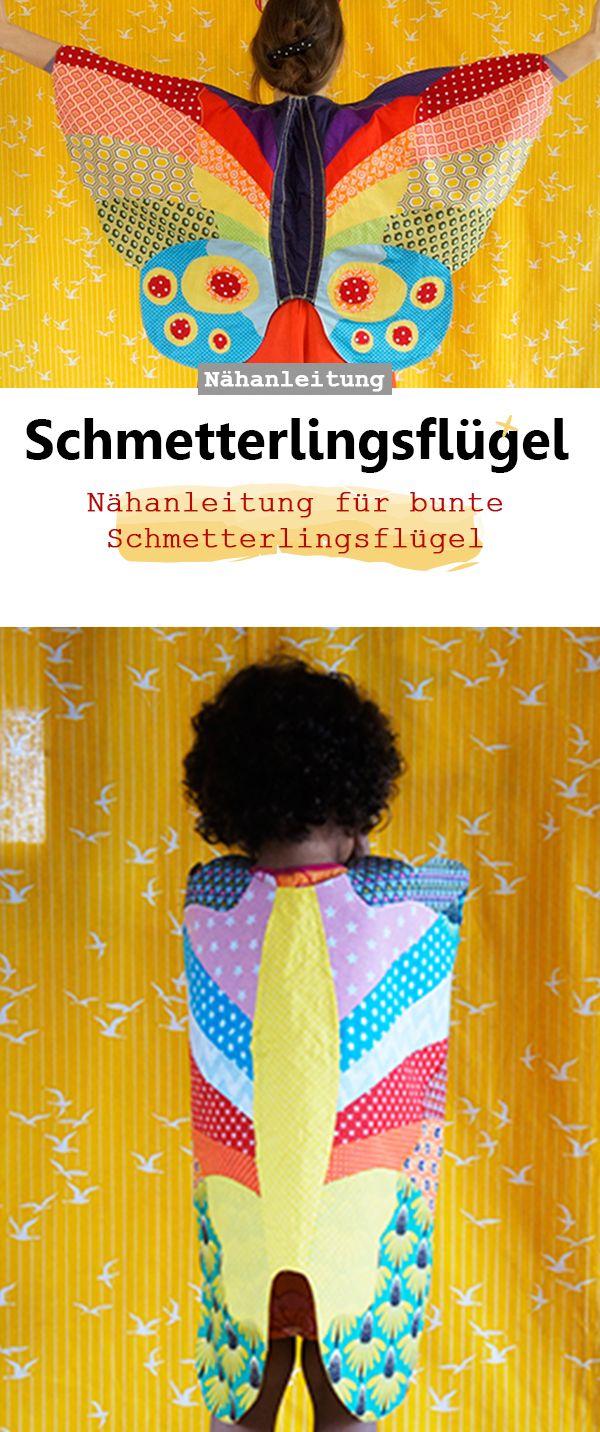 Kostüm Schmetterlings-Umhang   Schmetterling kostüm kind ...