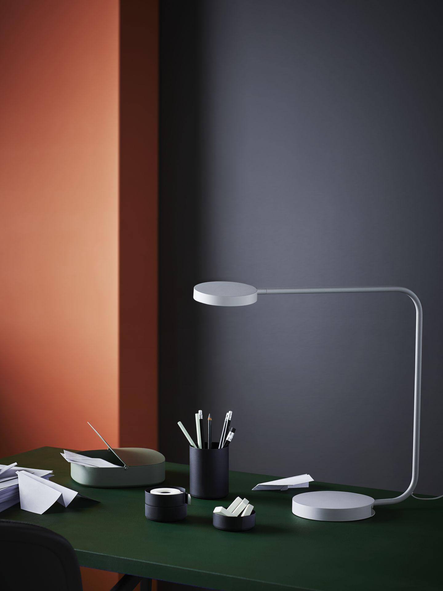 YPPERLIG Led-tafellamp, lichtgrijs   Pinterest   Architecture ...