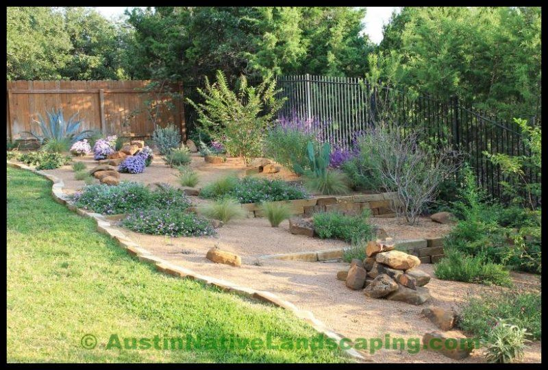 Native Plants Design Austin City Of Austin Landscape Jpg 800 540 Lawn And Landscape Texas Landscaping Landscape Design