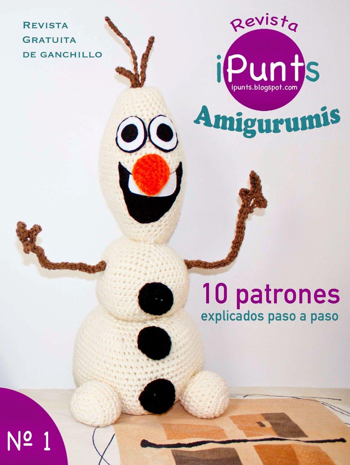 revista ipunts gratis patrones ganchillo crochet amigurumis ...