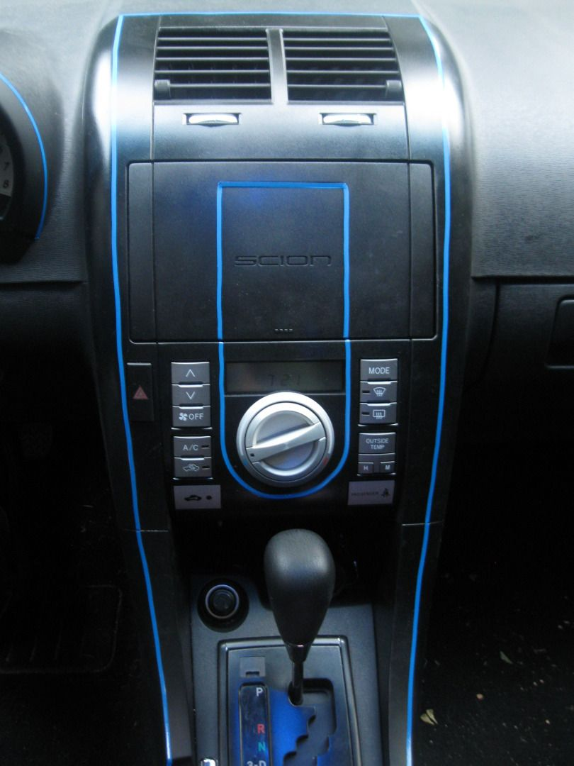 Pinstripe Inside Scion Tc